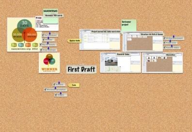 Corkulous App - First Draft board