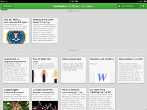 Evernote - Research Notebook