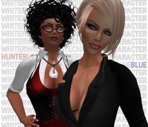 Writer and Character in SL