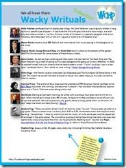 WCHP Wacky Rituals