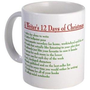 Christmas Writing Mug – originally at Amazon, no longer available there.