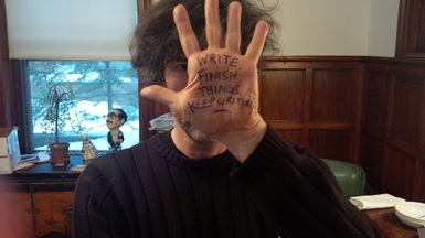 Neil Gaiman's Hand via Shared Worlds https://www.wofford.edu/sharedworlds/HandInHand.aspx
