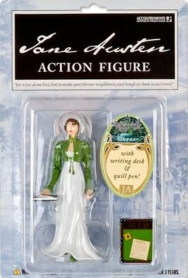 Jane Austen action figure