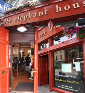 JK Rowling wrote in this cosy Edinburgh cafe called The Elephant House