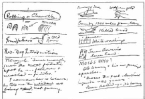 Mark Twain's Notebook (via Steal Like a Writer)