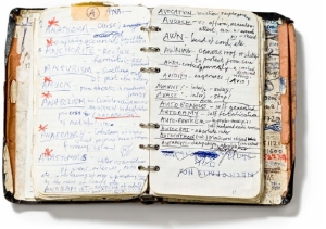 Nick Cave's notebook (via Steal like a Writer)