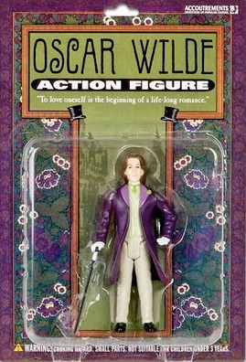 Oscar Wilde action figure