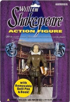 William Shakespeare action figure