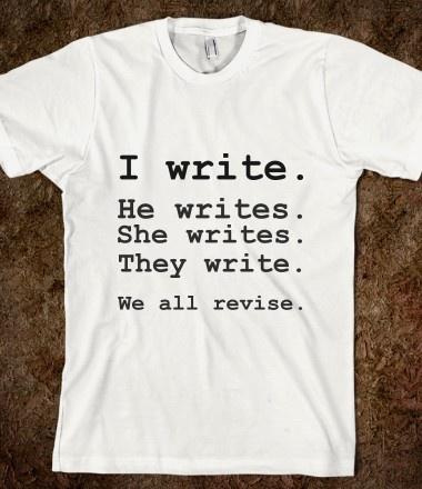 Write Tee via Skreened http://skreened.com/glamfoxx/write-tee