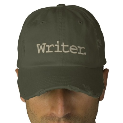 Writer cap - Zazzle http://www.zazzle.com/writer_embroidered_hat-233403037264752605