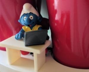 Writer Smurf