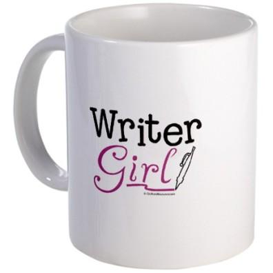Writer Girl mug via CafePress http://www.cafepress.com/+writer_girl_mug%2C240290351?cmp=pfc--ca--us--000--240290351&utm_term=240290351&utm_content=ChannelAdvisor_US_amzproductads&utm_campaign=Mug&utm_medium=productfeed&sourcecode=affiliate&utm_source=CSE&pid=5185601