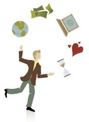 work-life-balance juggle