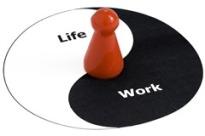 work life blend ying yang