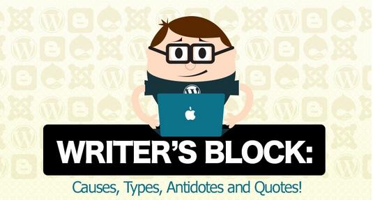 Writers Block infographic header