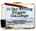 10 Day Write Blog Challenge button150