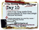10 Day Write Blog Challenge Daily10