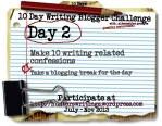 10 Day Write Blog Challenge Daily2