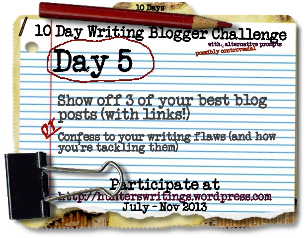 10 Day Write Blog Challenge Daily5