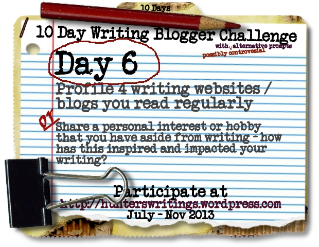 10 Day Write Blog Challenge Daily6