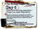 10 Day Write Blog Challenge Daily6