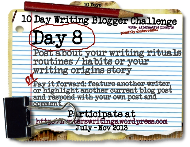 10 Day Write Blog Challenge Daily8