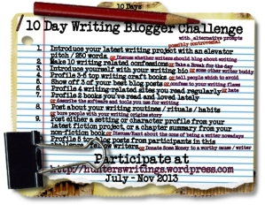 10 Day Write Blog Challenge