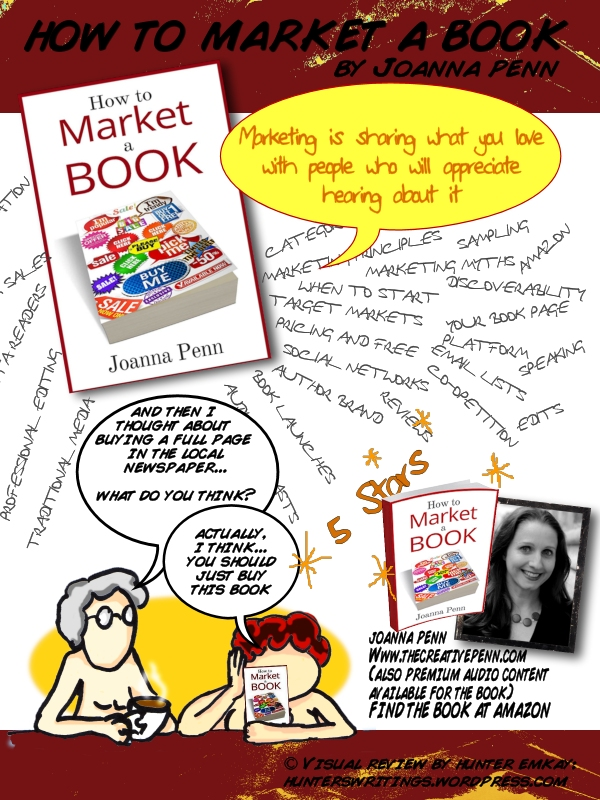 Hunter - Book Review - How to Market a Book