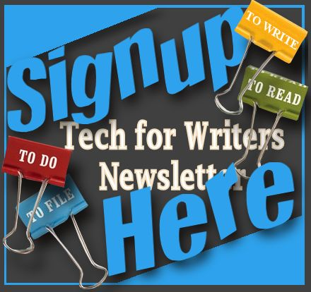 TechforWriters Newsletter Signup