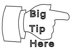 big tip here