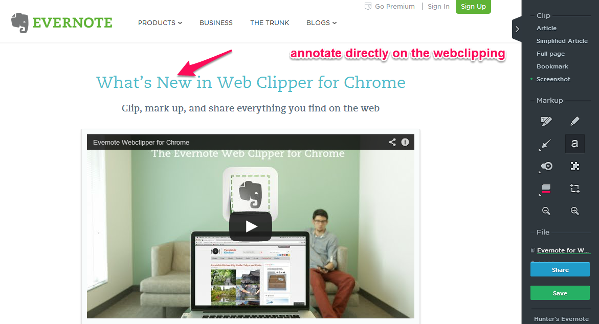EN Webclipper Screenshot1