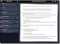 Outline Pro App ipad
