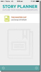 Story Planner - Master project