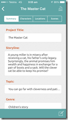 Story Planner - summary project