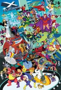 Futurama X-Men Meld by DeviantArt user Gottabecarl.