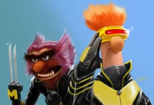 If there was anyone Muppet that best matches Wolverine, DeviantArt user Rahzzah totally nailed it as Animal.