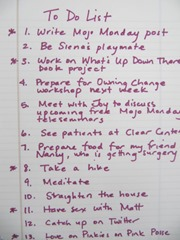to do list starred