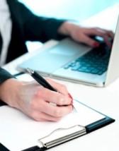 writing vs typing