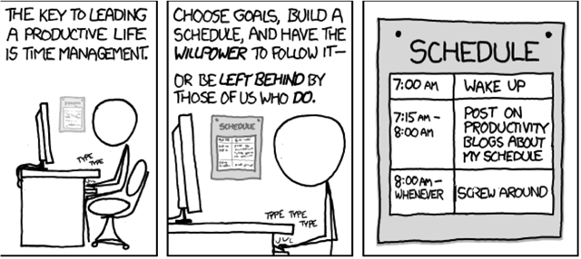 xkcd.com productivity fun