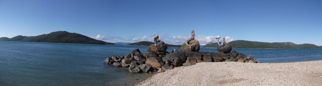 3 Mermaids, Daydream Island, Whitsundays