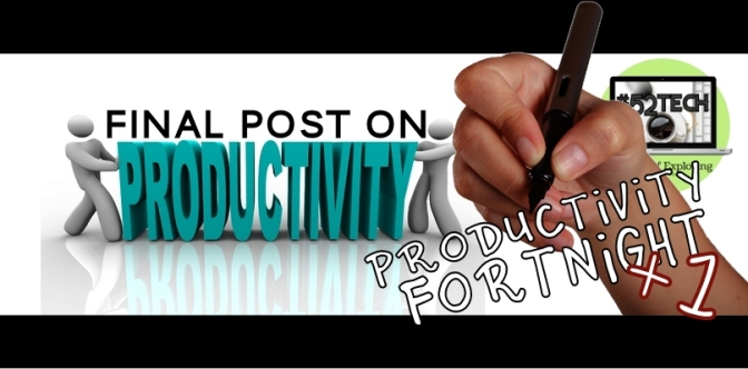 Productivity Fortnight 15