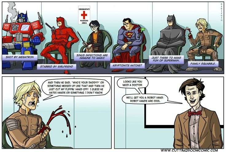 superhero medical