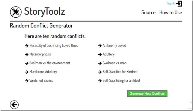 Conflict Generator