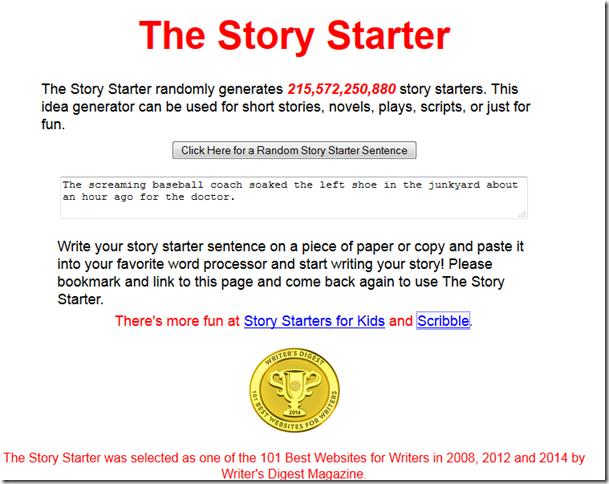 52Tech Week 32–Story Starters – Word Hunter