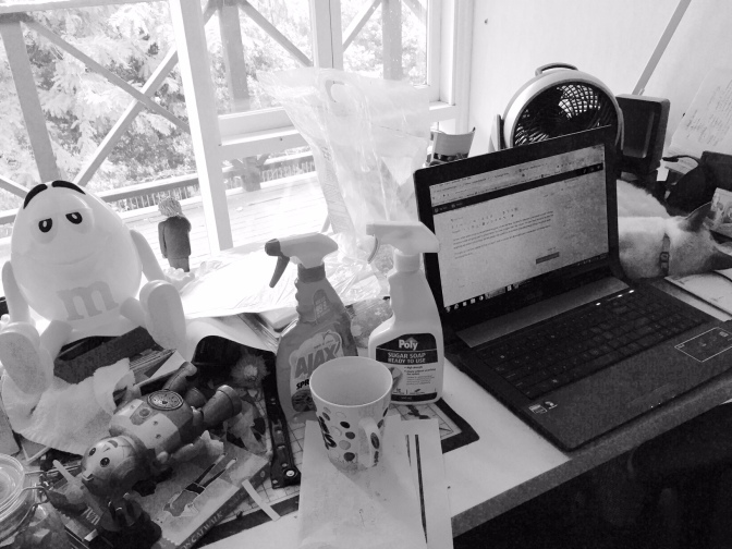 The Messy Edit Desk (Status Update)