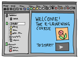 How to study a MOOC