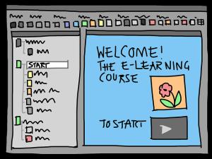 How to study a MOOC