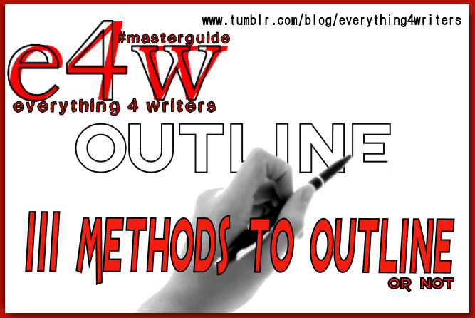 111 and More Methods for Outlining Your Story