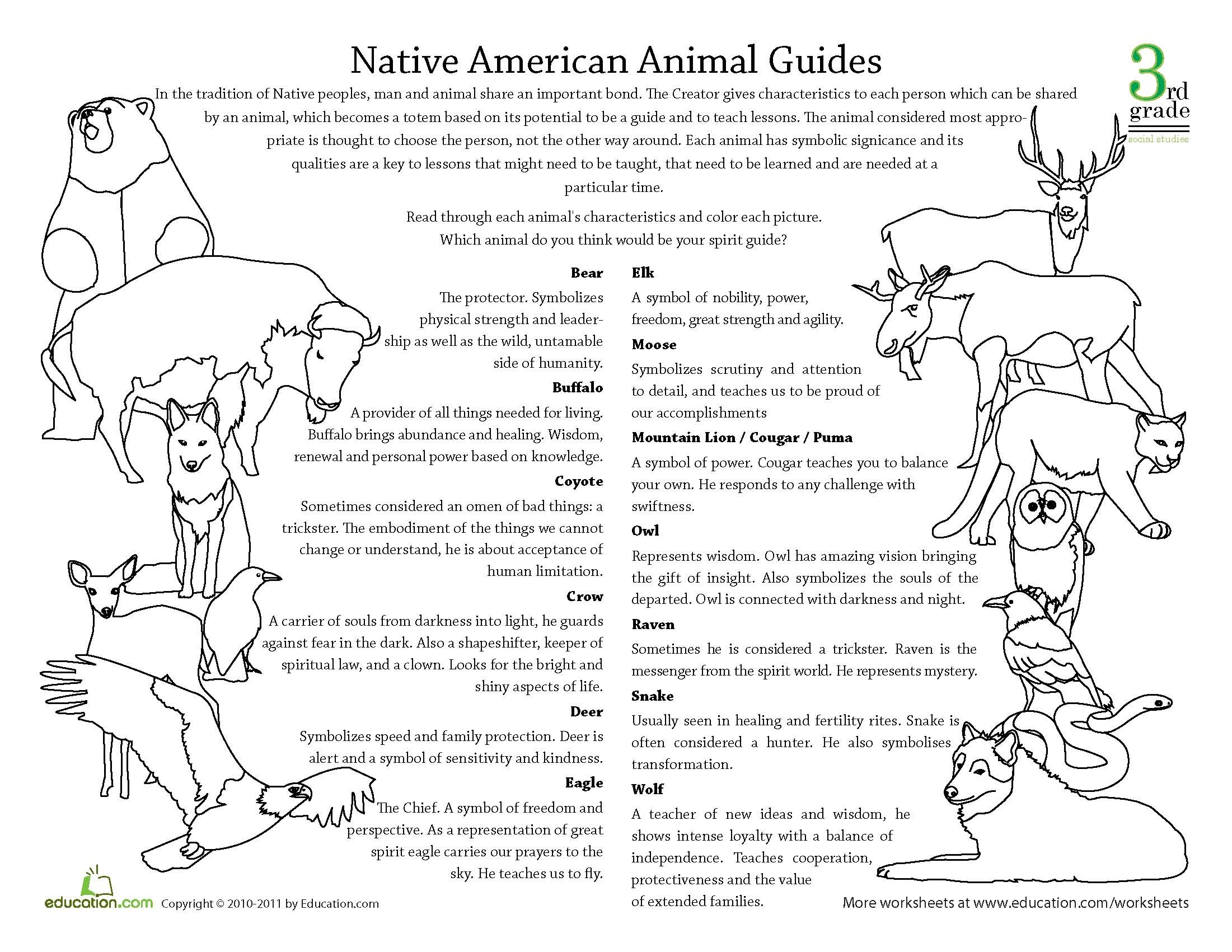 nativeamericananimalguides