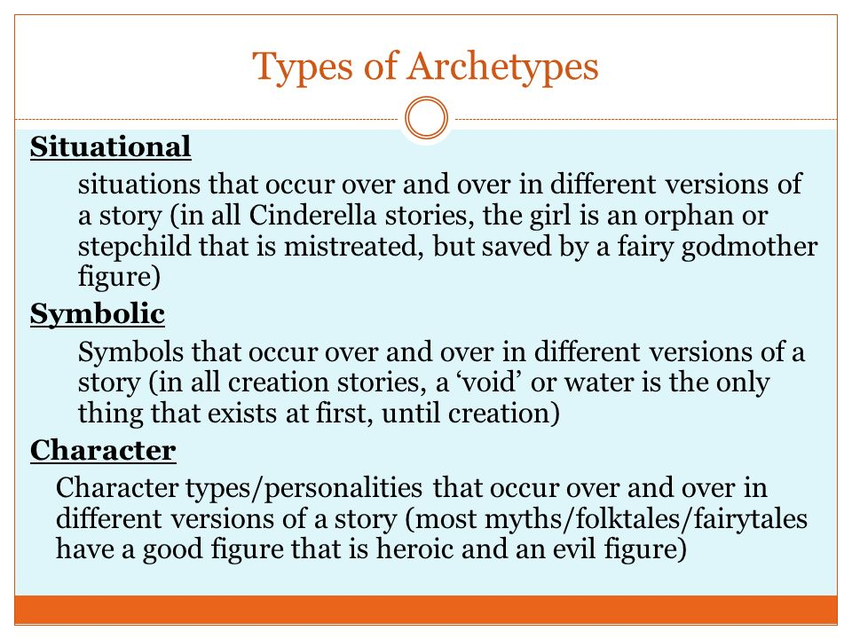 Character Archetypes A To Z Introductionwhats An Archetype
